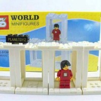 Lego SY306 Building Toy - World minifigures not lego