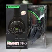 Jual Razer Kraken Pro 2015 BLACK - Analog Gaming Headset Murah