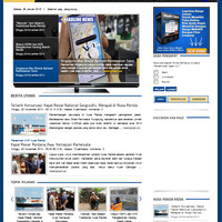 Script Web Portal Berita berbasis CMS