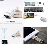 Remax Micro USB To USB OTG For Smartphone - Adapter Flashdisk ke HP
