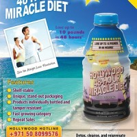 Hollywood 48-Hour Miracle Diet from Hollywood Diet