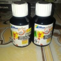 tinta blueprint hitam botol