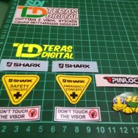 harga Sticker Visor Helm Helmet Shark Tokopedia.com
