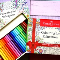Connector pen faber-castell colouring for relaxation 60 warna