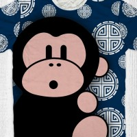 Baju tahun baru cina imlek sincia taun monyet (MO -01)