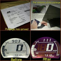 Polarizer Film untuk negative LCD Speedometer NMax