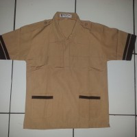 Jual No.14 Kemeja / Baju Seragam Sekolah SD Pramuka Siaga Famatex Murah
