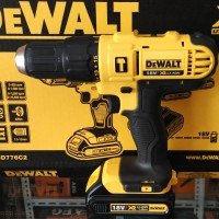 DeWalt DCD776C2 Cordless Hammer Impact Drill Mesin Bor Tembok Baterai