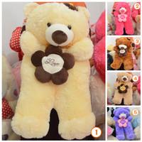 Jual Boneka Teddy Bear Besar Jumbo Flower Kwalitas SNI Murah