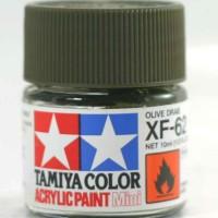 tamiya acrylic XF-62 Olive Drab ( cat gundam model kit )