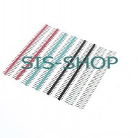 Pin header male  2.54mm 1x40 p 1x40p 1 x 40 pin 1x40pin