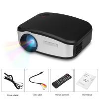 Proyektor MINI Profesional 1200 Lumen Projector Home Cinema Presentasi