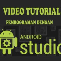 Jual DVD Tutorial pemrograman android studio plus paket tutorial lengkap Murah