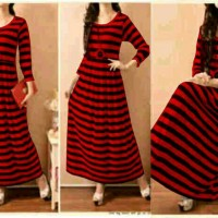 Maxi StipeLong Red