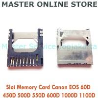 Slot Memory Card Camera Canon EOS 60D 450D 500D 550D 600D 1000D 1100D