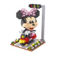 Jual Lego Nano Block Loz Minnie Mouse Biking 9635 Murah