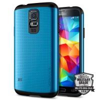 SPIGEN SGP Slim Armor Mesh Plastic + TPU Case for Samsung Galaxy S5