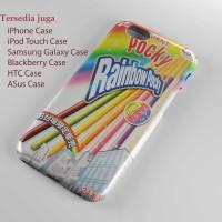 giant rainbow pocky Hard case Iphone case dan semua hp