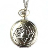harga Pocket Watch Necklace Kalung Jam Saku Full Metal Alchemist Silver Tokopedia.com