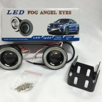 "FOGLAMP ANGEL EYES 3"" BLUE"
