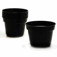 harga Pot Plastik Hitam 30cm (6pc) Tokopedia.com