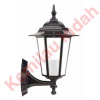 LAMPU DINDING BOHLAM LED MINIMALIS OUTDOOR E27 ST5 PILAR HIAS ANTIK