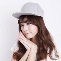 C15318 gray | topi baseball import polos gaya korea koleksi ichika