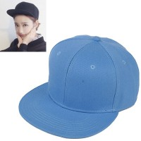 C15321 biru | topi baseball import polos gaya korea koleksi ichika