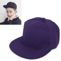 C15320 ungu | topi baseball import polos gaya korea koleksi ichika
