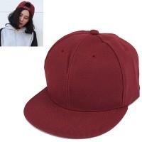 C15329 maroon | topi baseball import polos gaya korea koleksi ichika