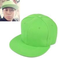 C15323 hijau | topi baseball import polos gaya korea koleksi ichika
