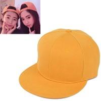 C15317 kuning | topi baseball import polos gaya korea koleksi ichika