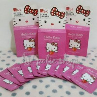 MASKER LUMPUR HELLO KITTY ORIGINAL!! HELLO KITTY MUD FACE MASK JAPAN