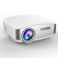 Mini Proyektor Projector LED cheerlux c6 1200 Lumens Bagus Berkualitas