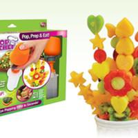 Pop Chef Fruit Cutter Food | Pemotong dekorasi buah-buahan