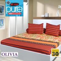Sprei My Love Pure Motif Olivia 180x200