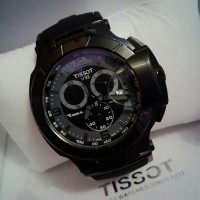 Tissot T Race 1853 (Rubber Black-Grey Hand Of Clock)