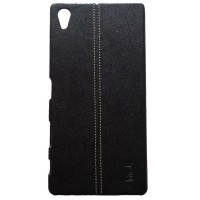 harga Imak Ruiyi Pu Series Leather Back Cover Sony Xperia Z5 Premium - Black Tokopedia.com