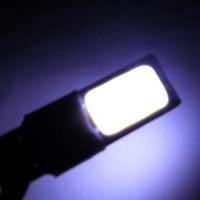 Bohlam Lampu Senja T10 2 Sisi Led Plasma Strobo Putih