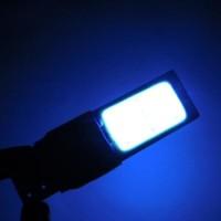 Bohlam Lampu Senja T10 2 Sisi Led Plasma Strobo Biru