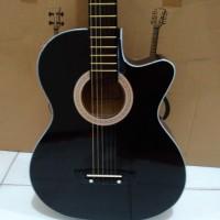 harga Gitar Akustik Standar Black Tokopedia.com