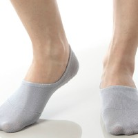 Bamboo No Show Fashion Low Cut Invisible Boat Socks Men and Women