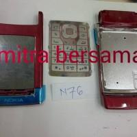 Chasing Kesing Nokia N76 Red  Fullset  Oc