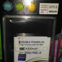 Baterai Double Power Log on Samsung Grand Prime / J5