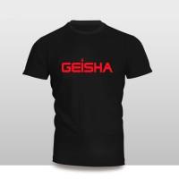 Kaos Baju Pakaian Musik Grup geisha Band Murah