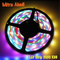 Lampu LED Strip RGB 5050 IP44