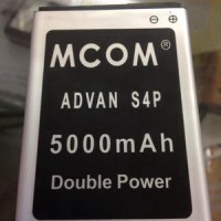 baterai battery advan s4p / s4f / s4x dobel power mcom 5000mah