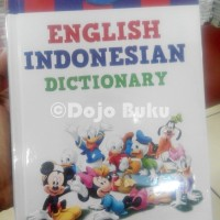 Kamus Disney English Indonesian Dictionary - Bahasa Inggris Indonesia