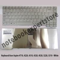 Keyboard ACER Aspire 4710 4210 4220 4310 4315 4320 4510 4520 - White