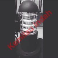 harga Lampu Pilar Taman Garden Lamp Antik Minimalis Outdoor Led Kisi E27 Tokopedia.com
